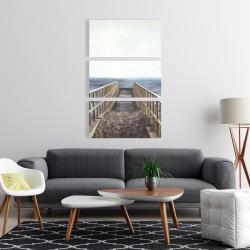 Canvas 24 x 36 - Relaxing beach