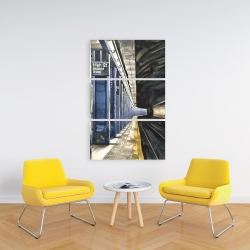 Canvas 24 x 36 - New-york subway