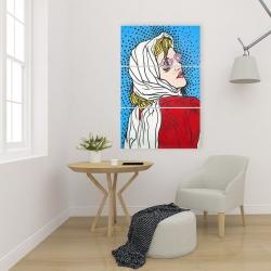 Canvas 24 x 36 - Pop art woman