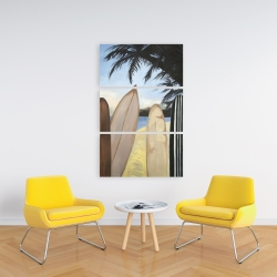 Canvas 24 x 36 - Surfboards