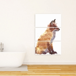 Canvas 24 x 36 - Red fox