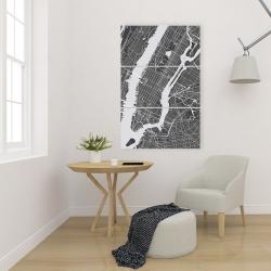 Canvas 24 x 36 - New-york city plan