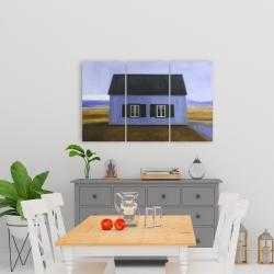 Canvas 24 x 36 - Blue barn