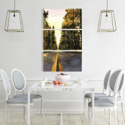 Canvas 24 x 36 - Long road