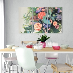 Canvas 24 x 36 - Flowers melody