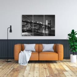 Canvas 24 x 36 - City under the night