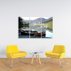 Canvas 24 x 36 - Adventure awaits