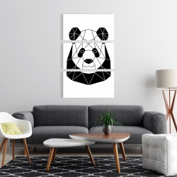 Canvas 24 x 36 - Geometric panda