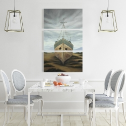 Canvas 24 x 36 - Boat