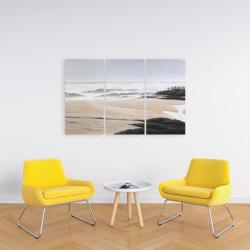 Canvas 24 x 36 - Cloudy at the beach