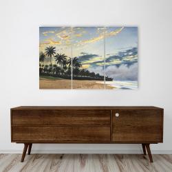 Canvas 24 x 36 - Tropical summer moments