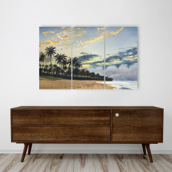 Canvas 24 x 36 - Tropical summer moments