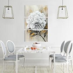 Canvas 24 x 36 - White peony