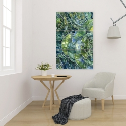 Canvas 24 x 36 - Abstract succulents