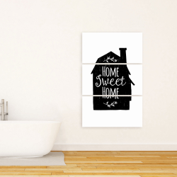 Canvas 24 x 36 - Home sweet home