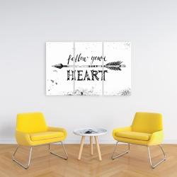 Canvas 24 x 36 - Follow your heart