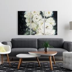 Canvas 24 x 36 - Garden roses