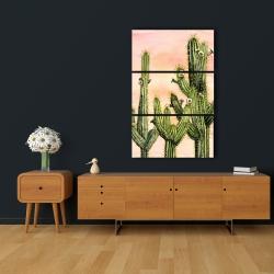 Toile 24 x 36 - Cactus weberocereus