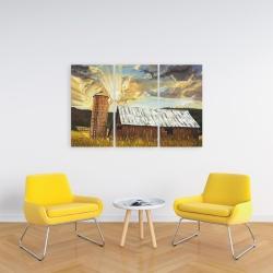 Canvas 24 x 36 - Hay barn