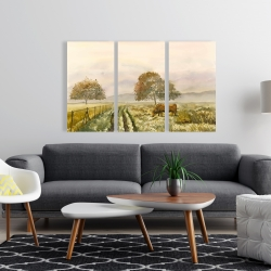 Canvas 24 x 36 - Sweet morning in the countryside