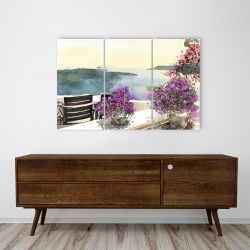 Canvas 24 x 36 - Mediterranean sea view