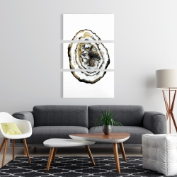 Canvas 24 x 36 - Golden geode
