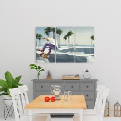 Canvas 24 x 36 - Skate park california