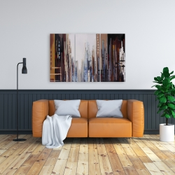 Canvas 24 x 36 - Abstract buildings