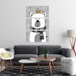 Canvas 24 x 36 - Beautiful bear