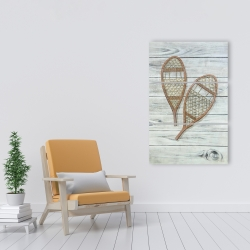 Canvas 24 x 36 - Snowshoes