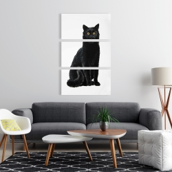 Canvas 24 x 36 - Black cat