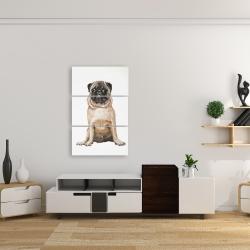 Canvas 24 x 36 - Pug