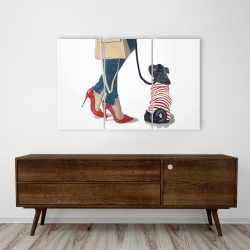 Canvas 24 x 36 - Best friends fashion
