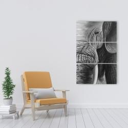 Canvas 24 x 36 - Elephant