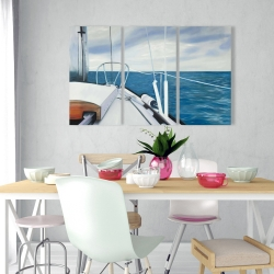 Canvas 24 x 36 - Sail on the water