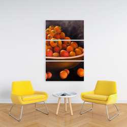 Canvas 24 x 36 - Bowl of cherry tomatoes