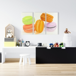 Canvas 24 x 36 - Small bites of macaroons