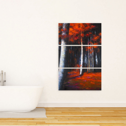 Canvas 24 x 36 - Mysterious forest