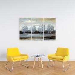 Canvas 24 x 36 - Grey landscape