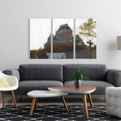 Canvas 24 x 36 - Le château de frontenac in autumn