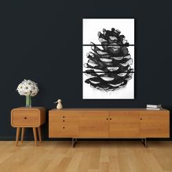 Canvas 24 x 36 - Pine cone