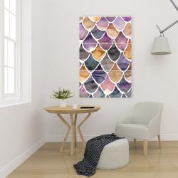 Canvas 24 x 36 - Purple like a mermaid