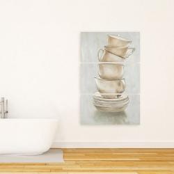 Canvas 24 x 36 - Coffee mugs