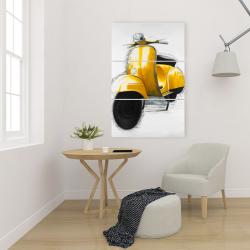 Canvas 24 x 36 - Yellow italian scooter