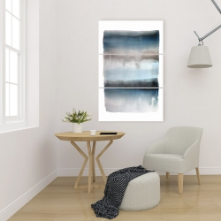 Canvas 24 x 36 - Blue stripes