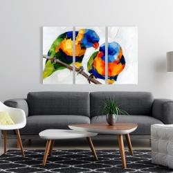 Canvas 24 x 36 - Couple of parrots