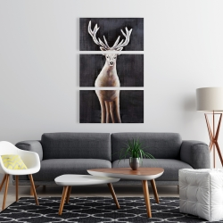 Canvas 24 x 36 - Lonely deer