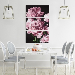 Canvas 24 x 36 - Pink peonies