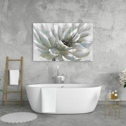 Canvas 24 x 36 - White chrysanthemum
