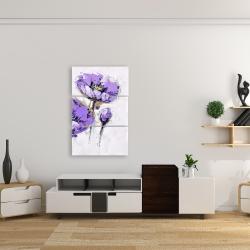 Canvas 24 x 36 - Purple anemones